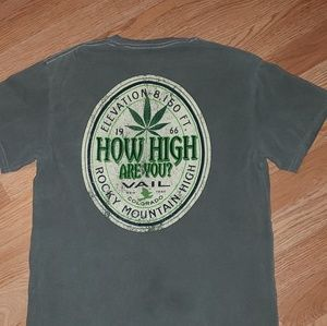 How High Are You Rocky Mountain High tee